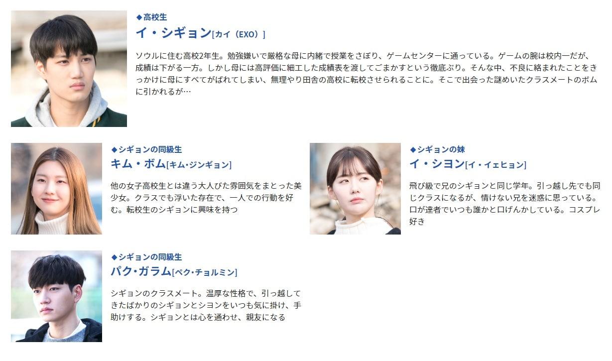 アンダンテ~恋する速度~ キャスト